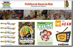 Site Nazaré da Mata