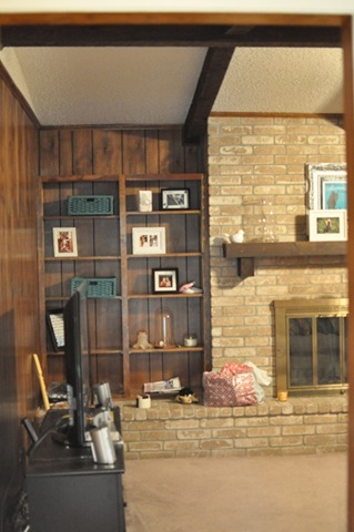Monica Wants It A Lifestyle Blog How to Paint Wood Paneling DIY