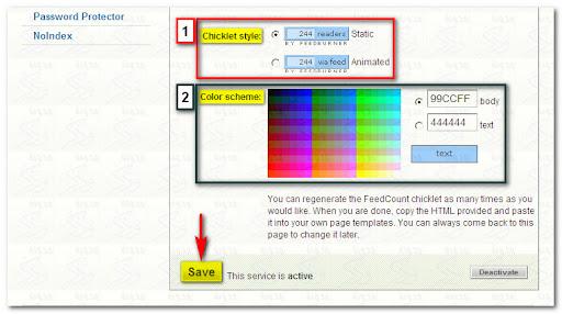 FeedBurner, FeedCount, RSS, Subscriber Management, عداد المشتركين