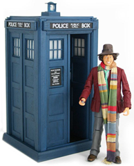 4th Doctor with Electronic TARDIS