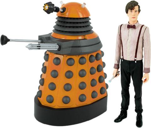 Dalek and Doctor set