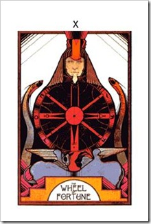 Aquarian Tarot Major-Fortune