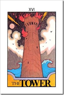 Aquarian Tarot  Major-Tower