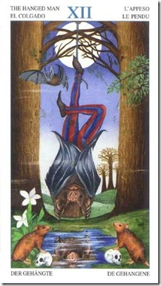 12-Major-Hanged Animal Lords TAROT