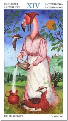 14-Major-Temperance Animal Lords TAROT