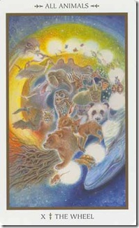 Animals Divine Tarot (10)