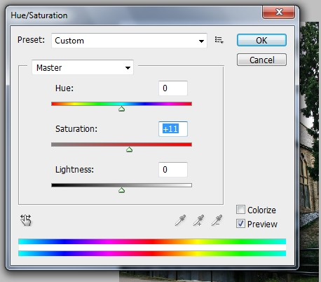Photoshop Saturation