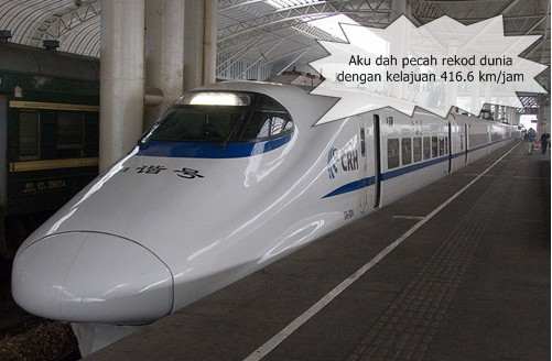 China Speed Train CRH380