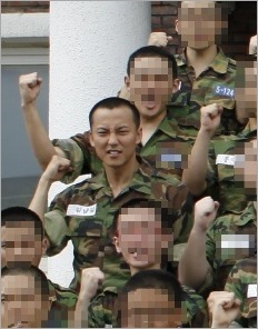 KimNamGil in military uniform