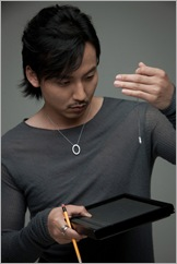 Kim nam gil design necklace 1