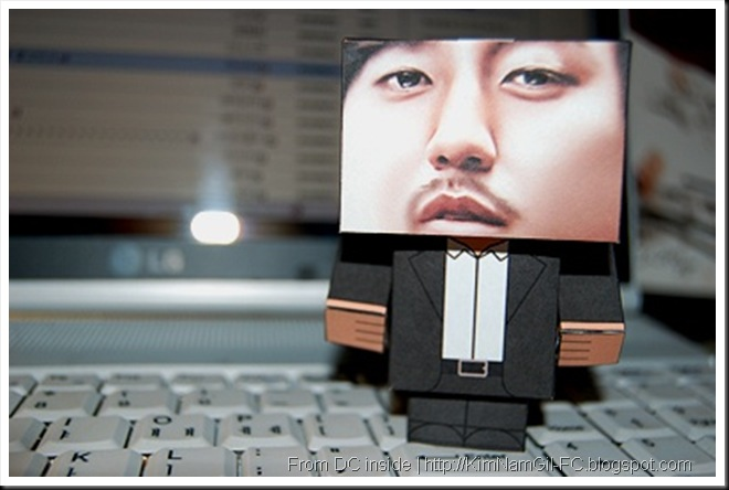 KimNamGil-FC.blogspot.com Papercraft of kim nam gil (4)