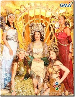Encantadia - Amihan - Alena - Pirena - Danaya - Mine-a