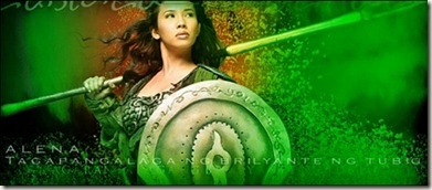 Encantadia - Alena - Tagapangalaga ng Brilyante ng Tubig