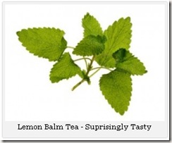 Lemon Balm Tea 01