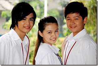 Jhake Vargas, Barbie Forteza and Joshua Dionisio [First Time]