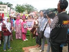 Kuansing TV Shooting Karnaval dan Drum Band Bahana di Kota Teluk Kuantan 6