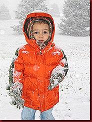 cute snowbaby