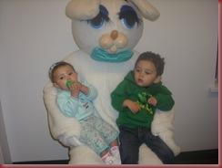 Jaxon Ava easter bunny