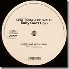 LINDSTROMCHRISTABELLE - Baby Can't Stop