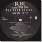 Dr Dre - The Next Episode (feat Snoop Dogg)
