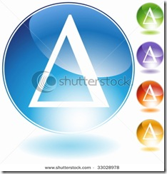stock-vector-greek-symbol-delta-crystal-33028978