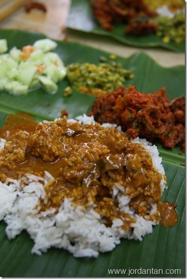 Banana Leaf Rice Nirvana Maju Bangsar Jordantan Com
