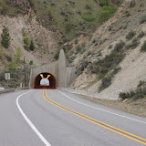 The dreaded Knapps Hill tunnel---not nearly as  big a deal as the ranger would have us fear