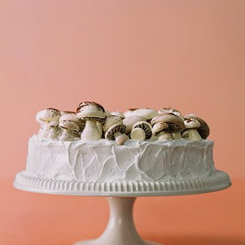 Meringue Mushrooms