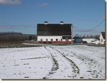 Prize winning barn