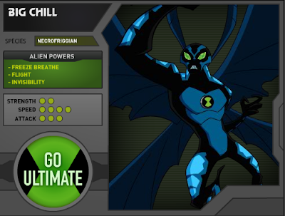 Big Chill Ben 10 Ultimate Alien