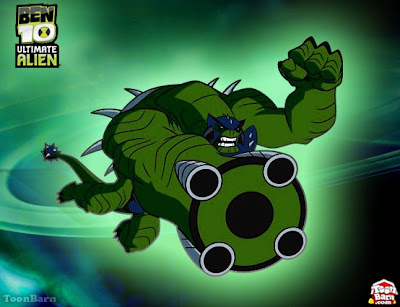 Humungousaur is one of Ben 10 Alien that has brute strength power,
