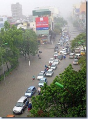 Hanoi sau tran mua dau mua