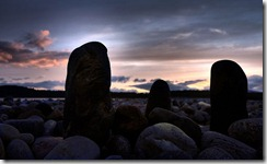 th_Pseudo standing stones beach sunset