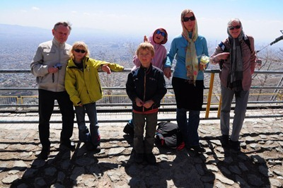 Familien-Besuch aus Deutschland