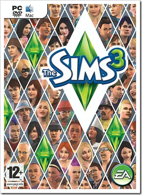 the sims 3 box cover
