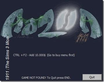 Razor1911 Sims 3 Trainer