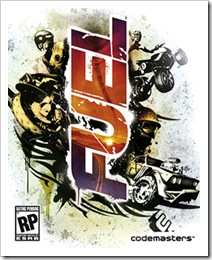 Codemasters Fuel PC Cover