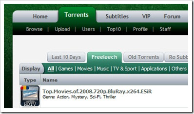 LastTorrents Screenshot