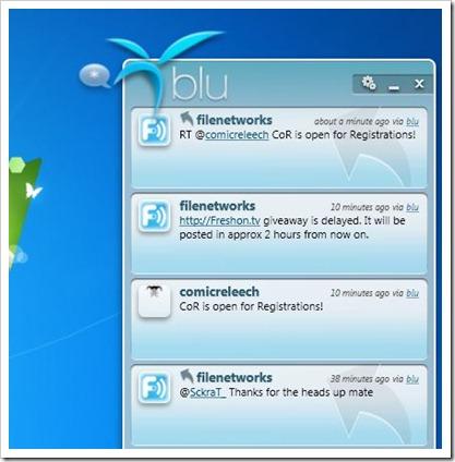 Blu Twitter Client