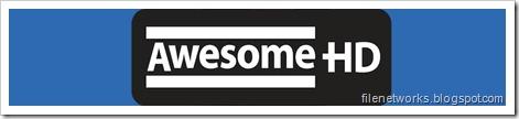 Awesome HD Logo