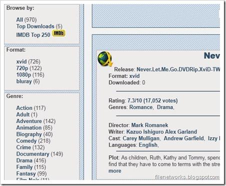 MovieSociety Index