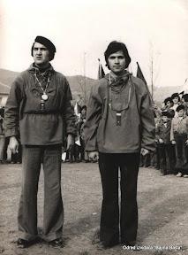 Smotra INO 74-nacelnik S.Mijatovici i  instruktor Manovic Dragan.jpg