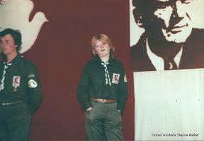 Nada, Vlaja 1980 cuvanje stafete mladosti.jpg