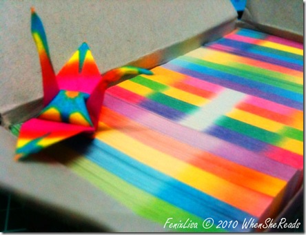 Origami Cranes Papers