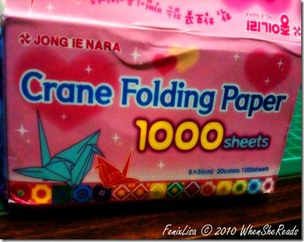 Box of 1000 Origami Cranes