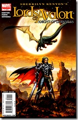 Sherrilyn Kenyon's Lord of Avalon: Knight of Darkness #1