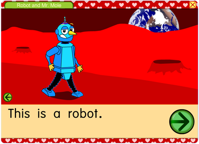 This is a robot.