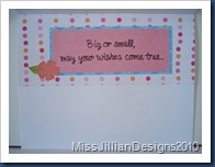 Wish Big, Wish Small - Inside