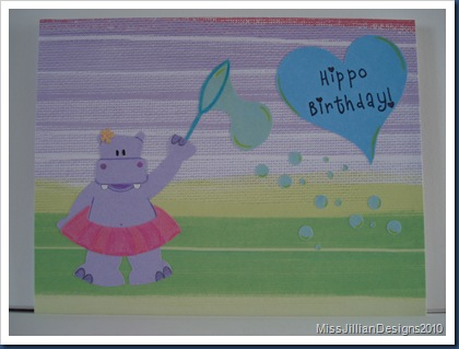 Hippo Birthday - Front