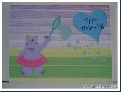 Hippo Birthday - Front
